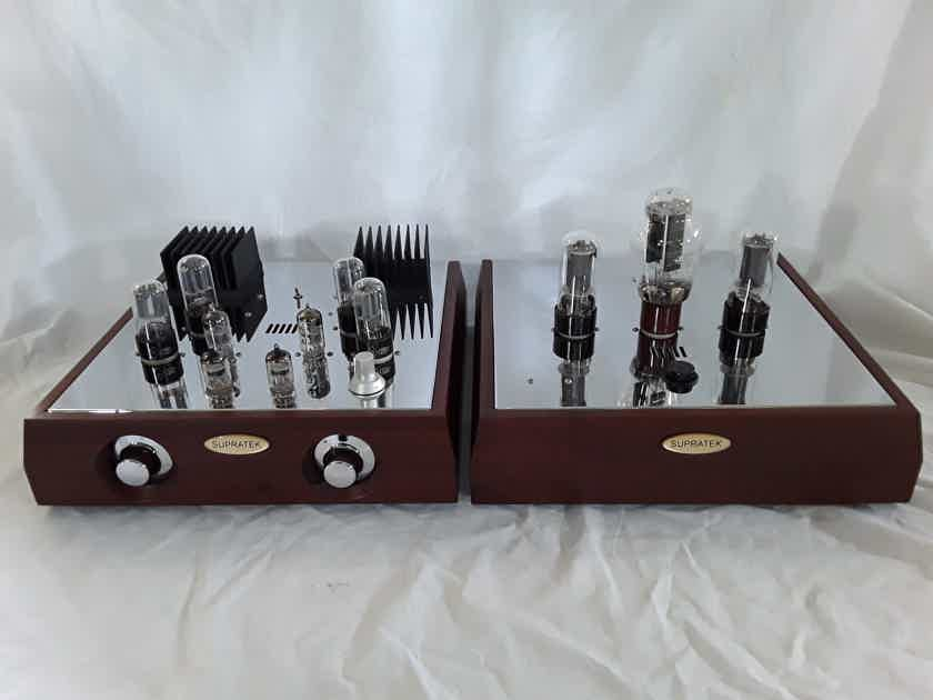 Supratek Audio Cortese Moving Coil Phono and Linestage Tube