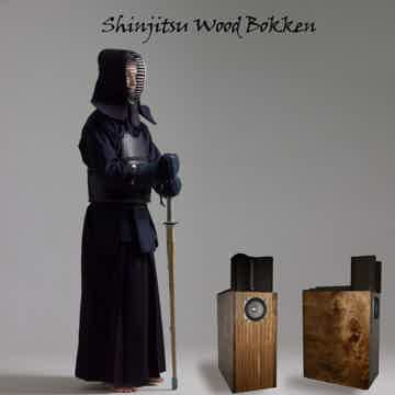 Shinjitsu Audio Bokken floor standing (pair)