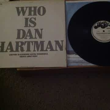 Dan Hartman - Who Is Dan Hartman? Promo Only  LP Blue S...