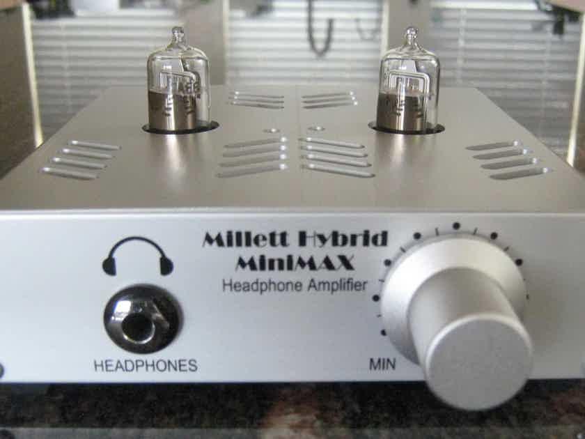 Pete Millett Hybrid MiniMAX tube headphone amp