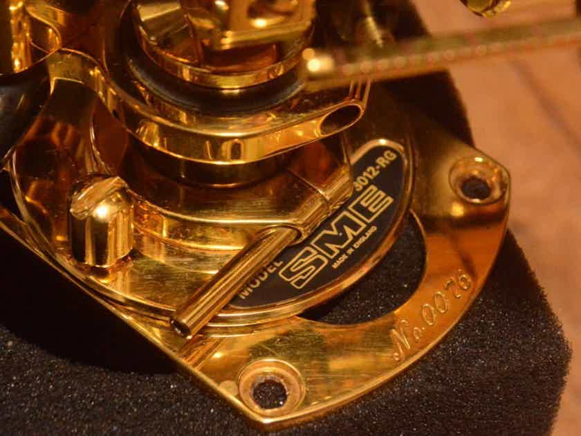 SME 3012 Limited Edition tonearm complete