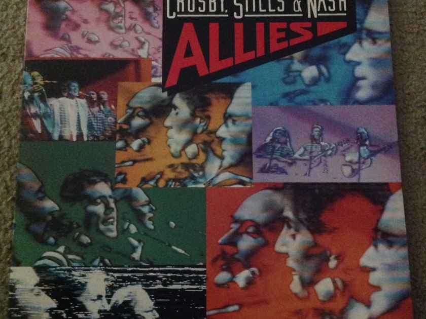 Crosby,Stills & Nash - Allies Atlantic Records Wally Deadwax Vinyl LP NM