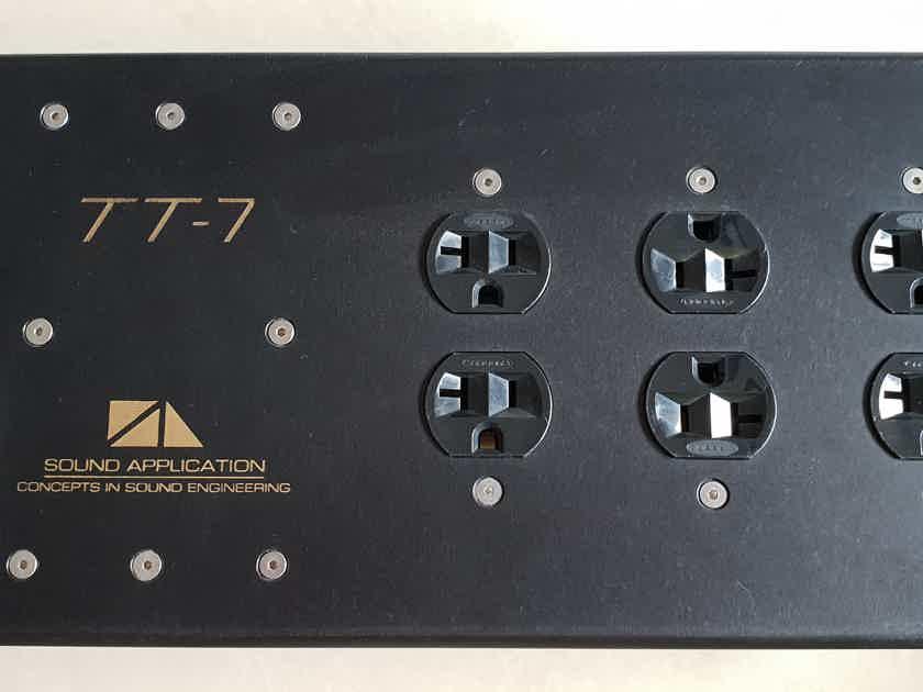 Sound Application TT-7 Current Flagship AC Conditioner