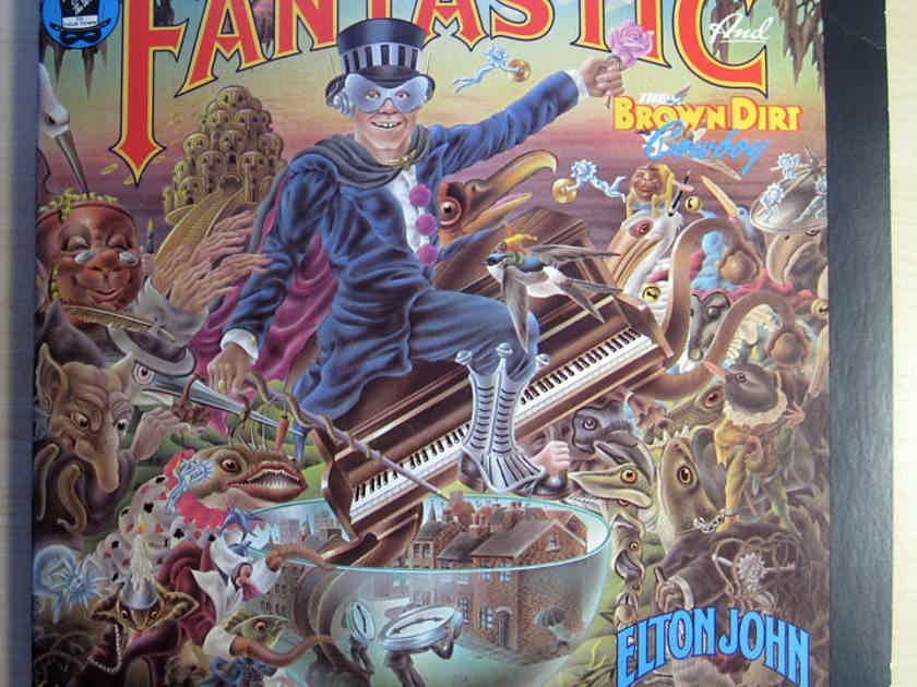 Elton John - Captain Fantastic And The Brown Dirt Cowboy -  1975 MCA Records ‎MCA-2142