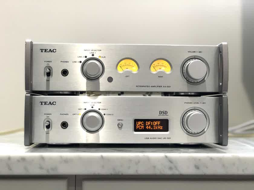 Teac AX-501 and UD-501 combo