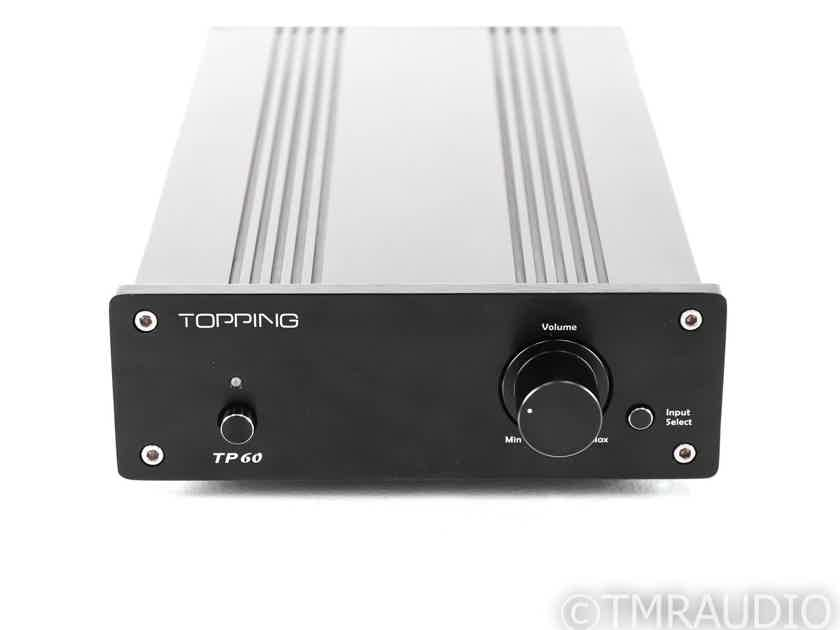 Topping TP60 Stereo Integrated Amplifier; TP-60 (27176)
