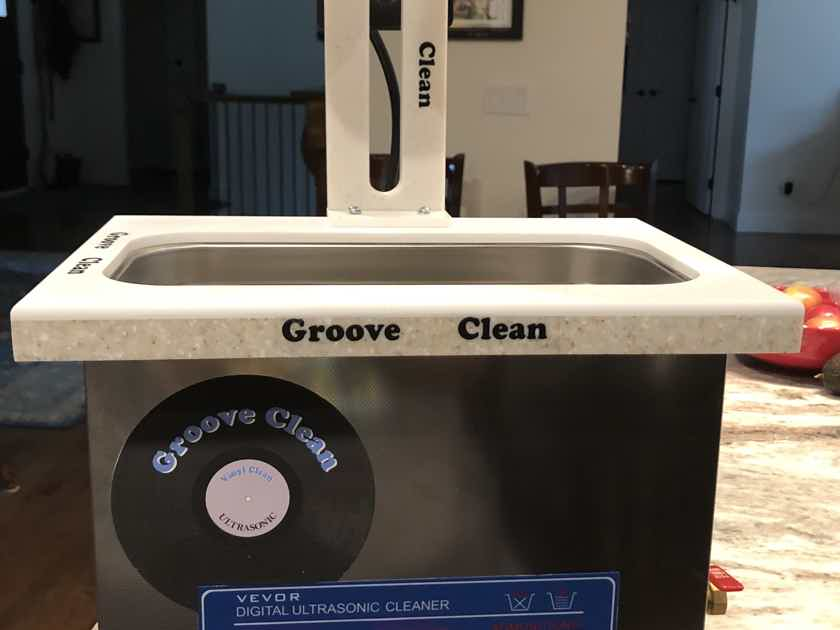 Groove Clean Record Cleaning System