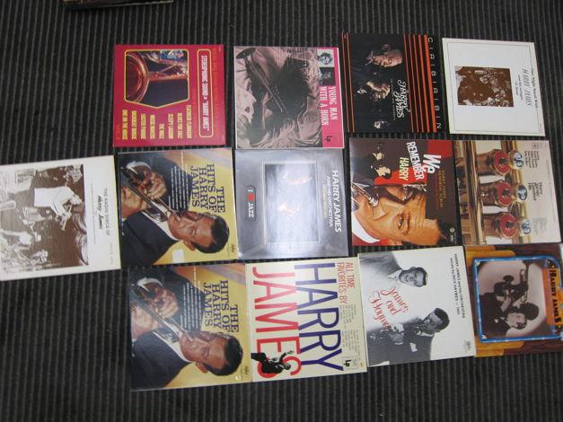 13 Harry James LPS, Ex Sound + Production