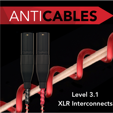 ANTICABLES Level 3.1 Reference Series Analog XLR Balanced Interconnects