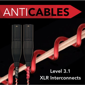 ANTICABLES Level 3.1 Reference Series Analog XLR Balanc...