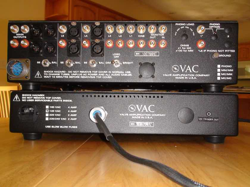 VAC Signature Mk IIa SE Line Stage Preamp