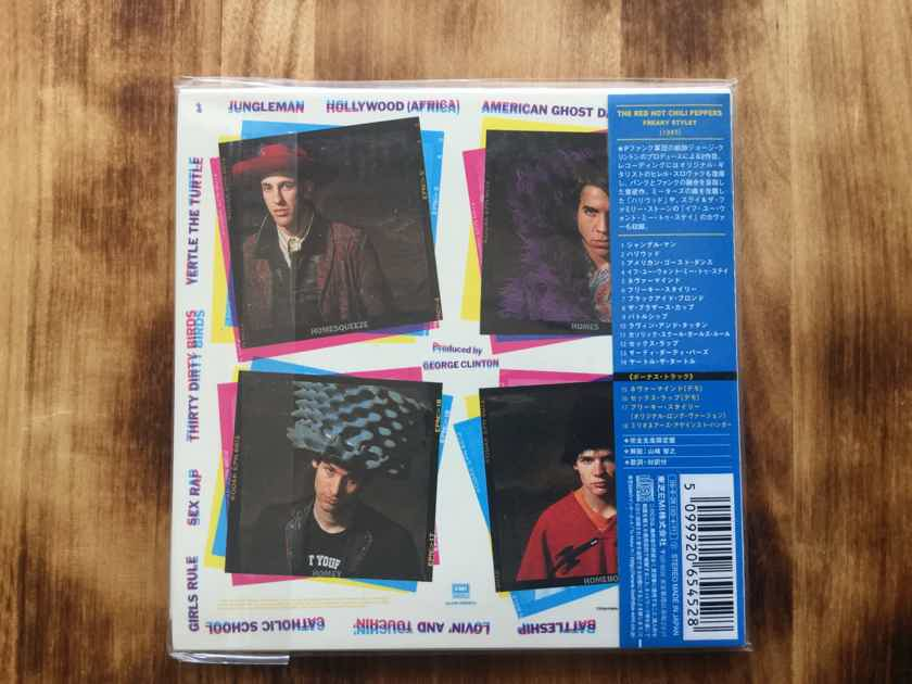 The Red Hot Chili Peppers - Freaky Styley Japan mini-cd