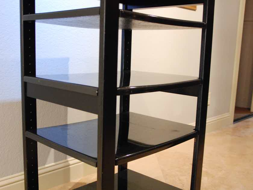 Polycrystal Audio rack Priced to sell. Local Pick Up Only.