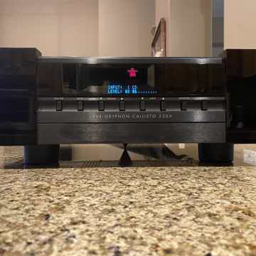 Gryphon Callisto 2200 w/ PS2-S MM/MC Phono Stage