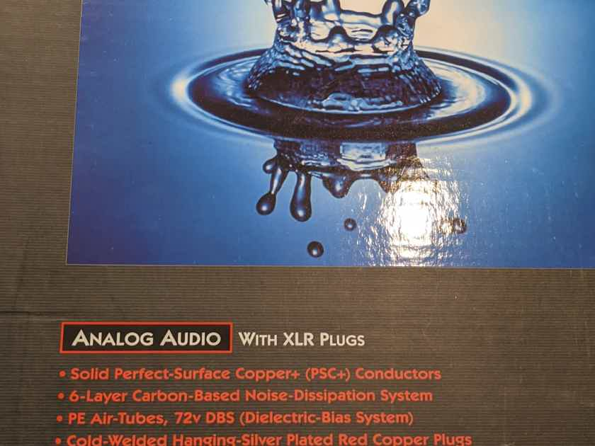 AudioQuest Water xlr to xlr 2m pair