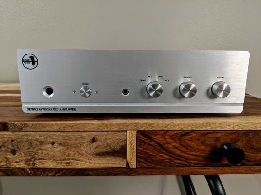 Rogue Audio Sphinx V2 - SILVER - Mint