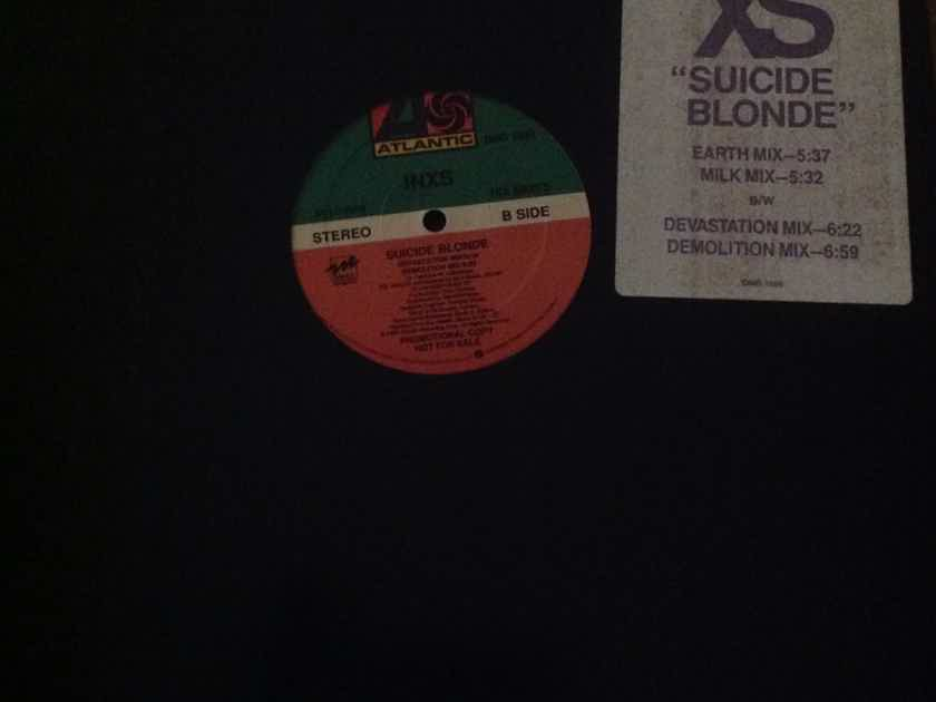 Inxs - Suicide Blonde  Atlantic Records 12 Inch Vinyl  EP Promo (4 versions) NM