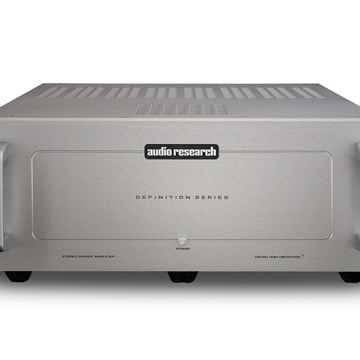 Stereo Power Amp (Silver):