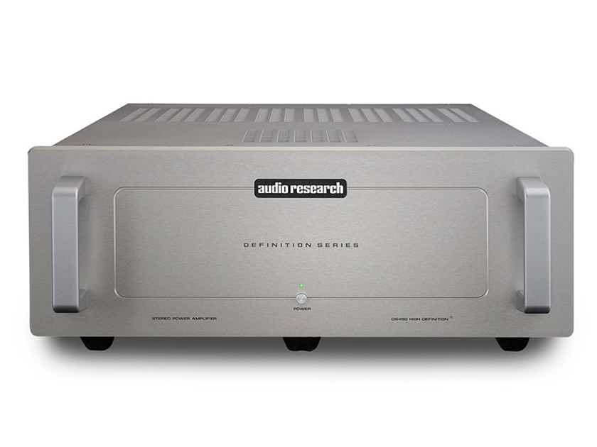 AUDIO RESEARCH DS450 Stereo Power Amp (Silver): Mint Trade-In; 1 Yr. Warranty; 62% Off; Free Shipping