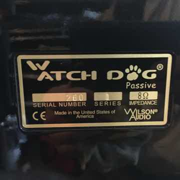Watchdog  passive subwoofer black