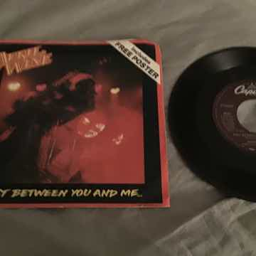 April Wine Just Between You And Me With Poster Sleeve
