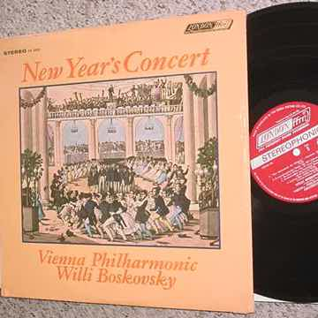 Willi Boskovsky lp record New years concert
