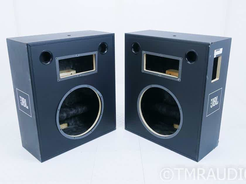 JBL Professional 3677 Speaker Cabinets; Black Pair; AS-IS (Structural Damage) (16319)