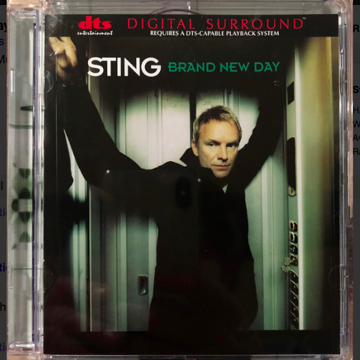 Sting & The Police 2 DTS Digital Surround 5.1 audio cds...