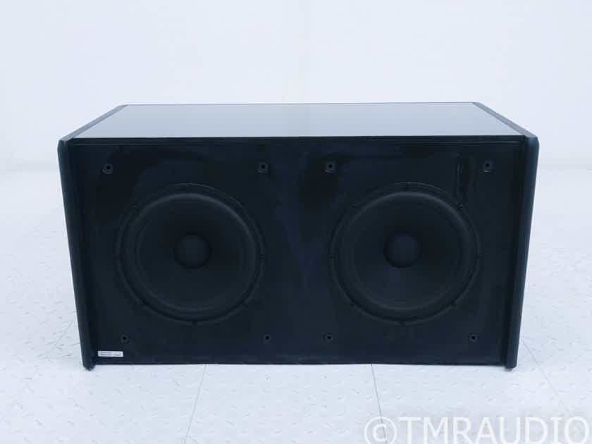"Meridian DSW2500 Dual 10"" Powered Subwoofer; DSW-2500 (No Feet) (1/0) (17983)"