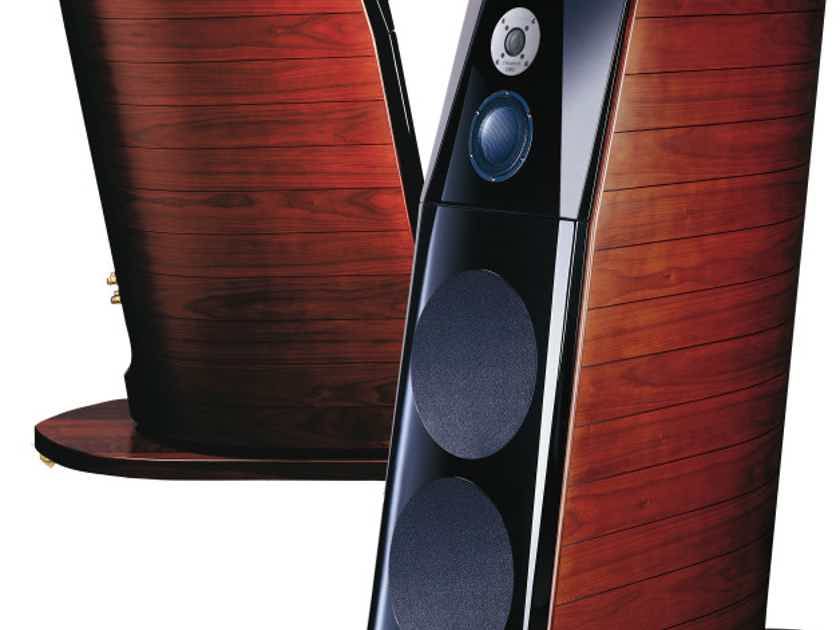 Usher Audio BE-20-D DMD Diamond Tweeter, Walnut Finish Color, loudspeakers Excellent condition. --- Want Quick Sale Price Only $7,195.95