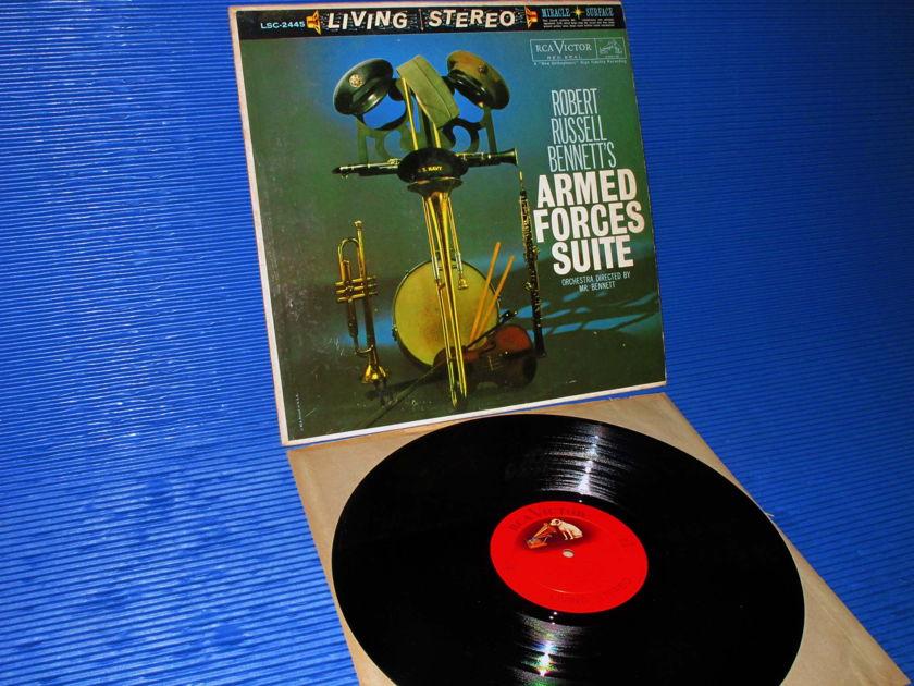 "BENNETT / Bennett  - ""Armed Forces Suite"" - RCA 'Shaded Dog' 1960 Promo 1st pressing"