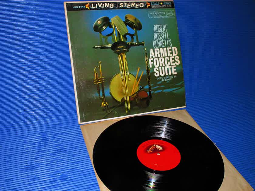 "BENNETT / Bennett  - ""Armed Forces Suite"" - RCA 'Shaded Dog' 1960 Promo 1st Pressing"