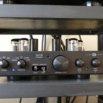 Carey Audio SLP 98L Preamp and 200.2 ES Power Amp