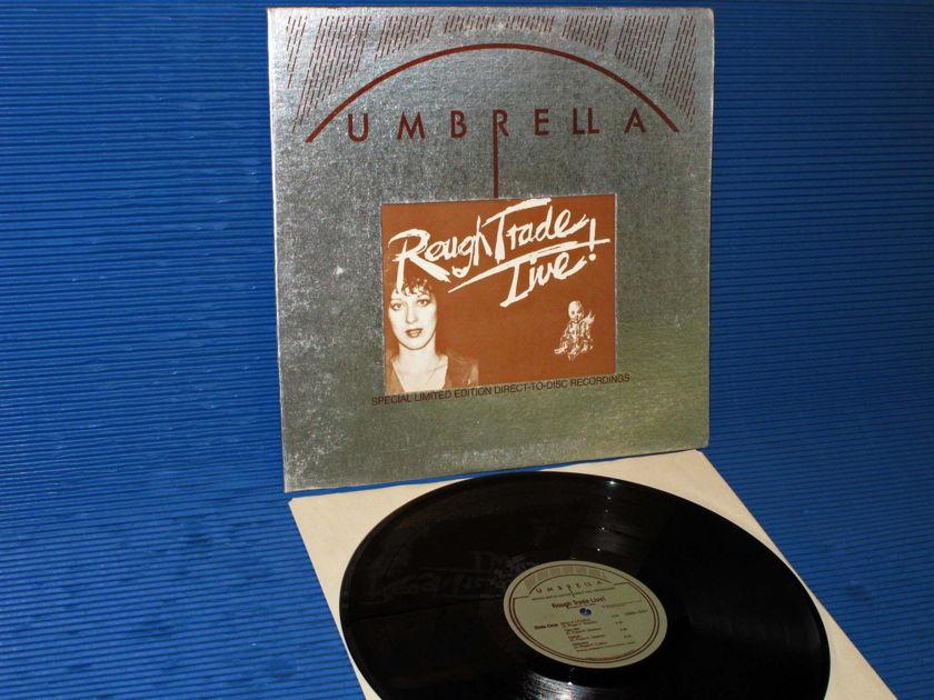"""ROUGH TRADE   - """"Rough Trade Live"""" - Umbrella 1976 D-D Ltd Ed"""