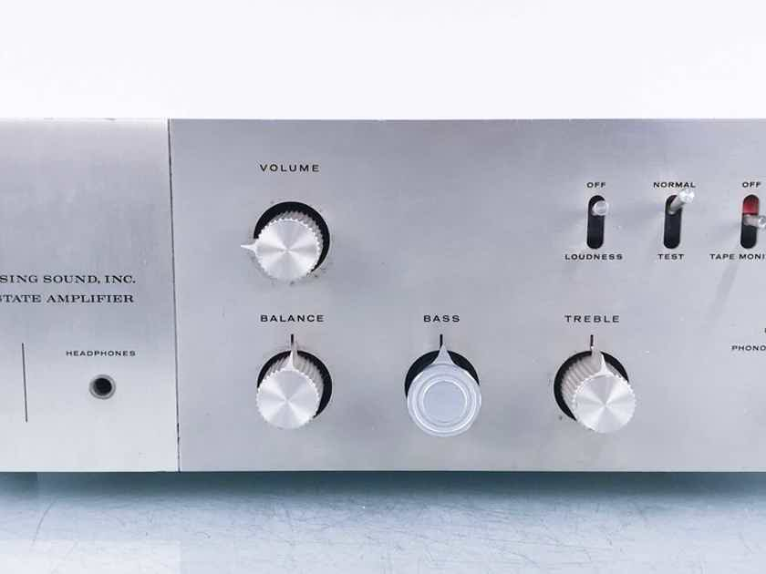 JBL SA600 Vintage Stereo Integrated Amplifier AS-IS (One Channel Out) (15752)
