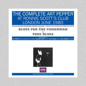 Complete Art Pepper Ronnie Scott's Club London 1980 7L...