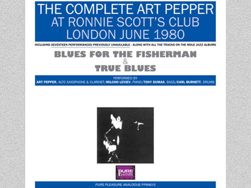 Complete Art Pepper Ronnie Scott's Club London 1980 7LP Box Set