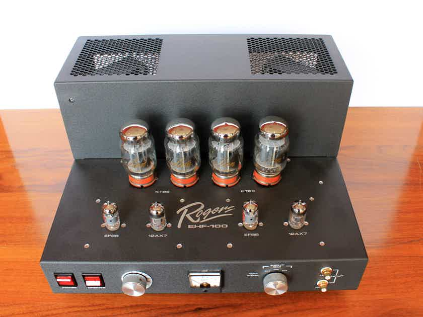 Rogers High Fidelity EHF-100 MK2 Integrated Tube Amplifier, Store Demo