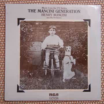 SEALED Manci - The Mancini Generation RCA LSP-4689 Stereo