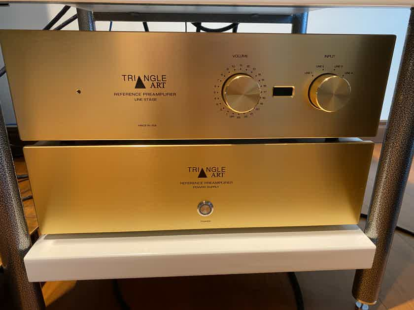 TriangleART Reference Tube Linestage preamplifier