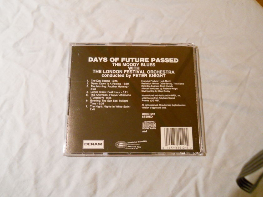 The Moody Blues - Days Of Future Past MFSL Ultradisc Gold CD UDCD 512