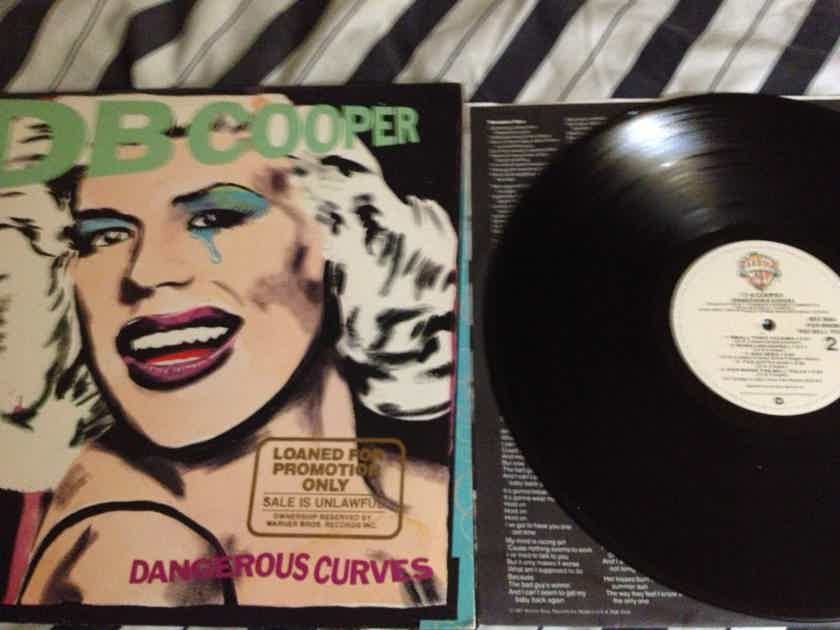 DB Cooper - Dangerous Curves Warner Brothers Records LP NM