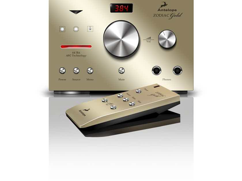 Antelope Audio Zodiac Gold Factory Refurbished Da