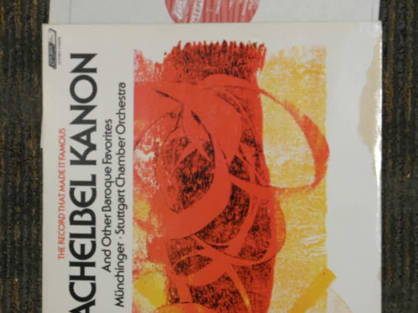 Munchinger/Stuttgart Chamber Orchestra - Pachelbel KANON London CS 6206 Holland pressing