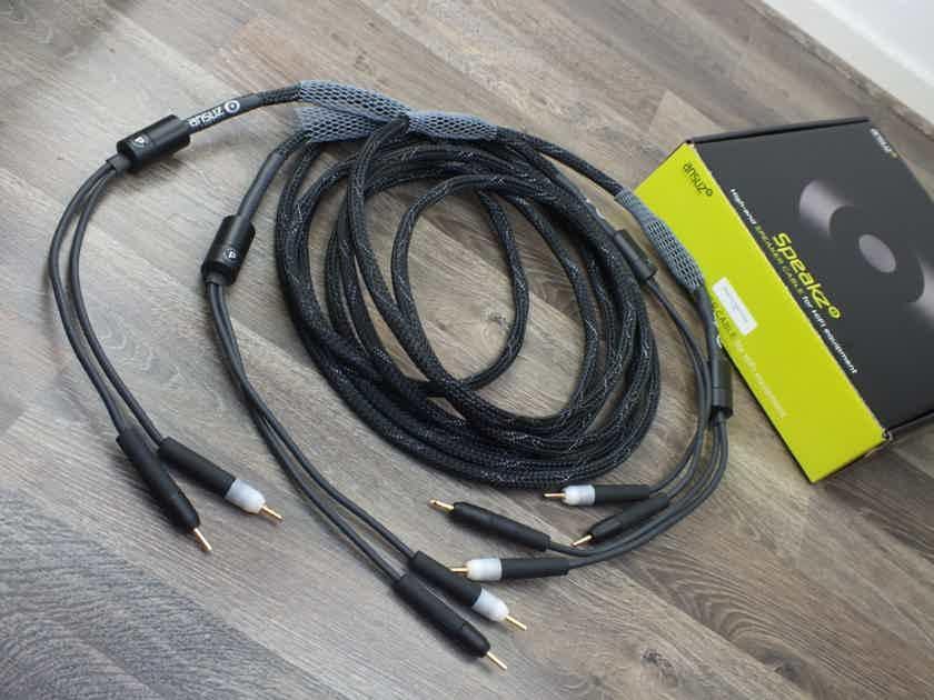 Ansuz Acoustics Speakz P speaker cables 4,0 metre