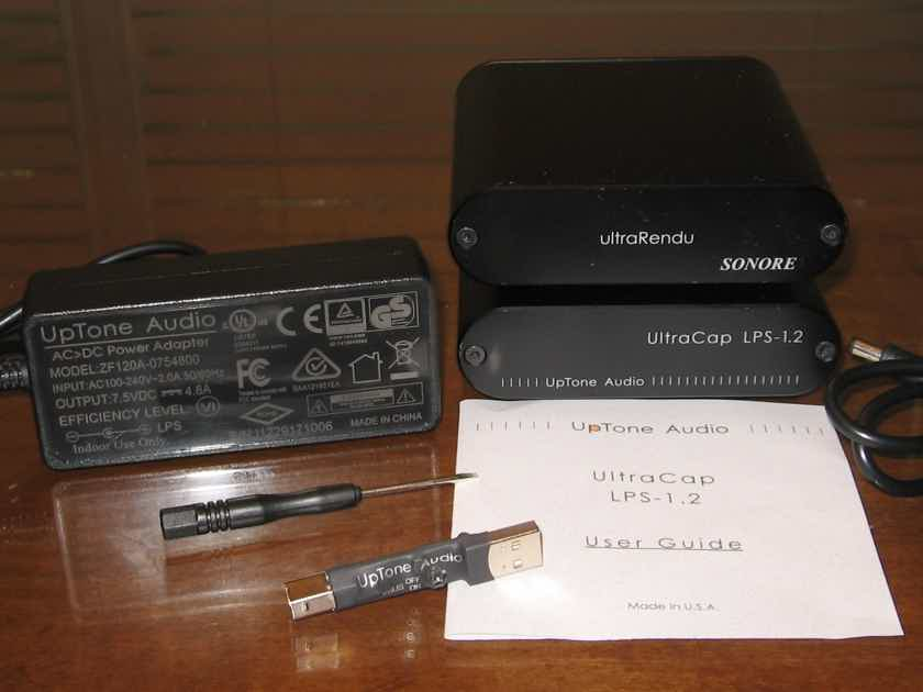 Sonore ultraRendu + Uptone Audio UltraCap LPS 1.2