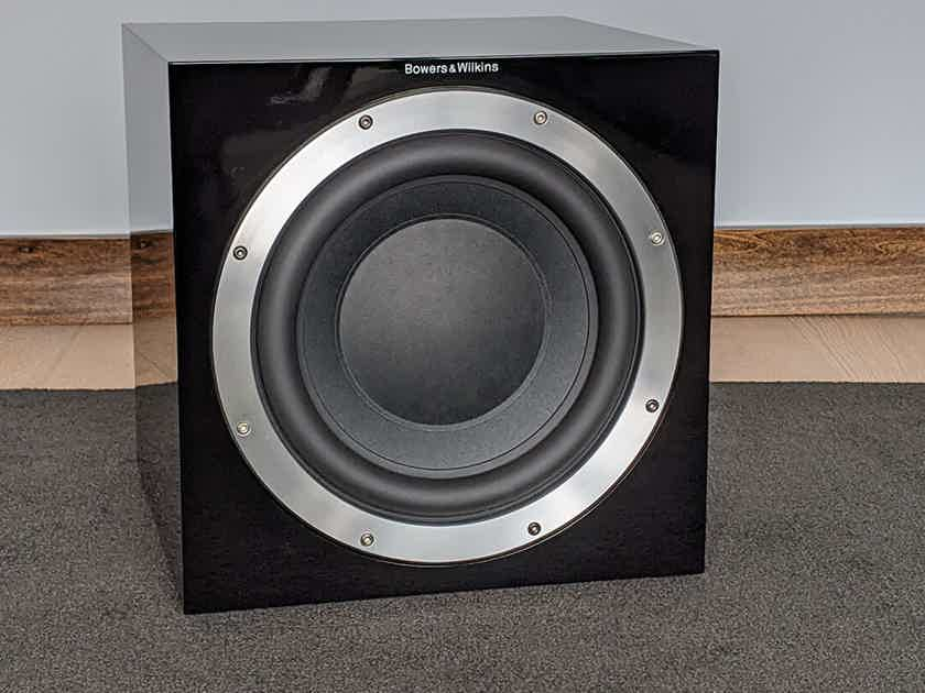 B&W ASW10CM Subwoofer in Piano Black Finish