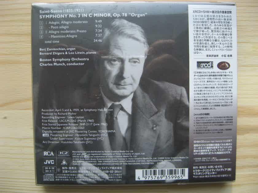 "Saint-Saens - Symphony No. 3 ""Organ""  SHM-XRCD"