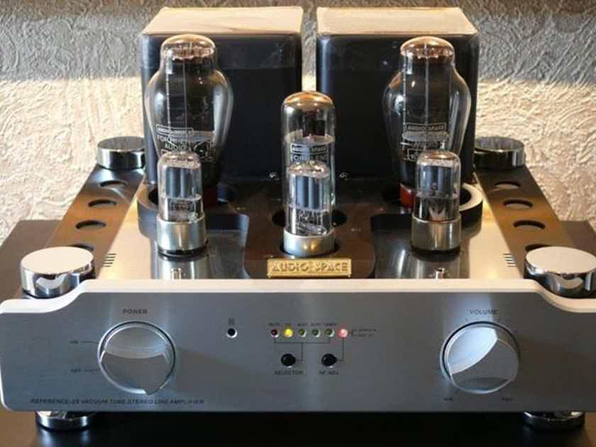 Audio Space Ref 2S Exceptional remote tube preamp