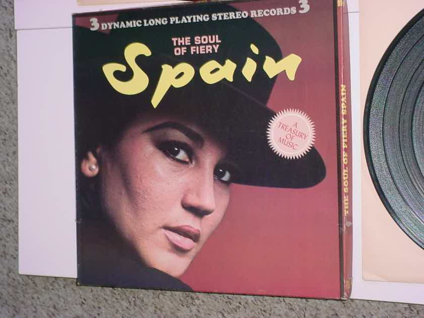 The Soul of Fiery Spain 3 lp record box set